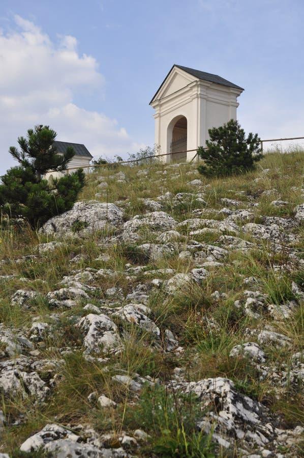 Mikulov - Holy Hill stock image