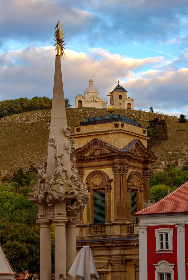 Mikulov - Holy Hill royalty free stock images