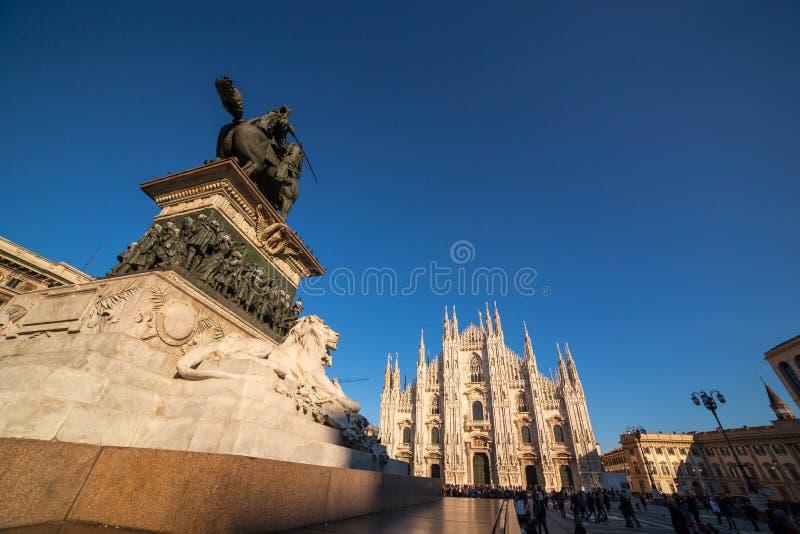 Milán foto de archivo libre de regalías