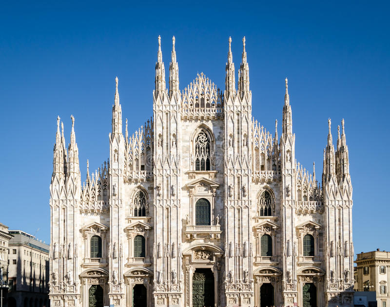 Milán, Duomo foto de archivo libre de regalías