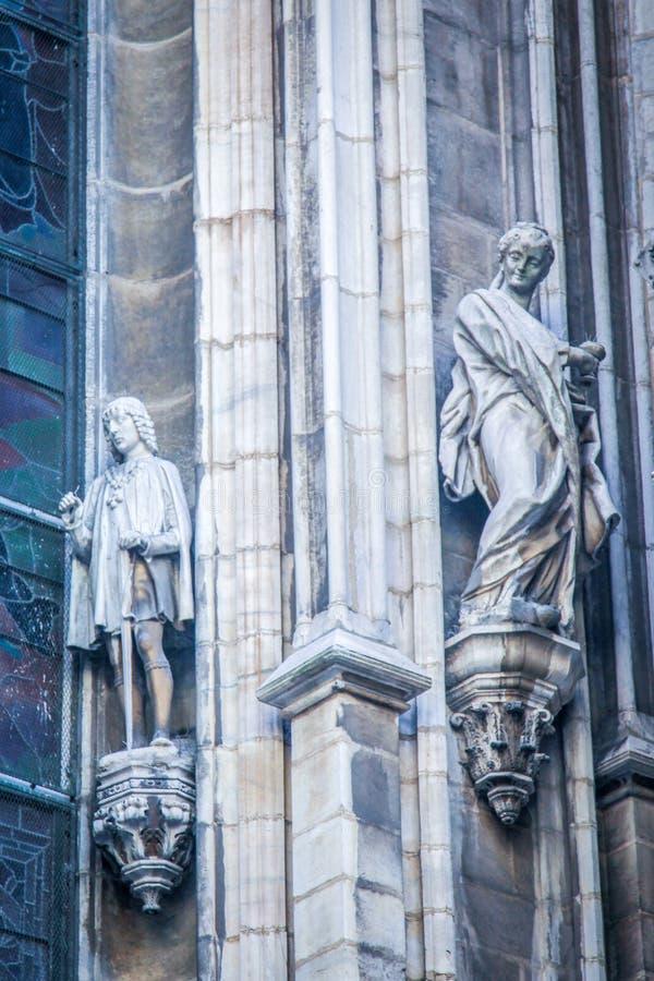 Milán, Duomo imágenes de archivo libres de regalías