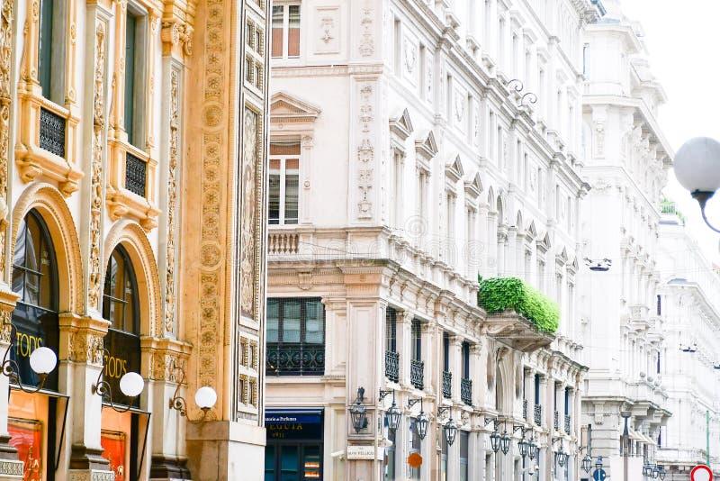 Milán, Italia imagenes de archivo