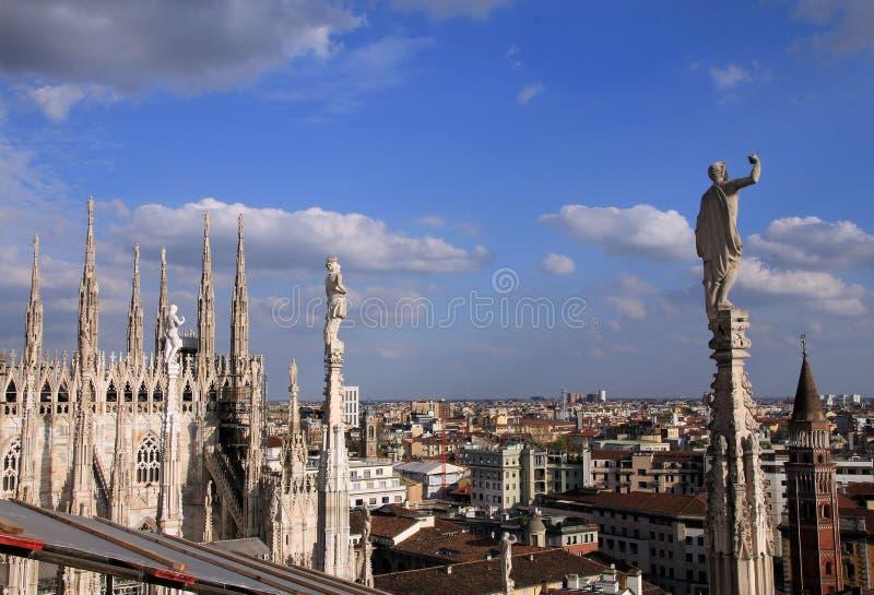 Milão, Itália foto de stock royalty free