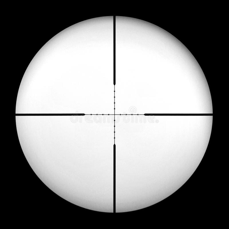 Mil Dot Gun Scope Royalty Free Stock Photography