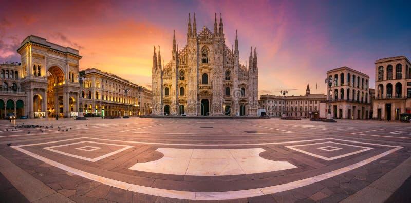 Mil?n, Italia imágenes de archivo libres de regalías