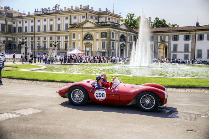 1000 mil, Royal Palace, Monza, Italien royaltyfria bilder