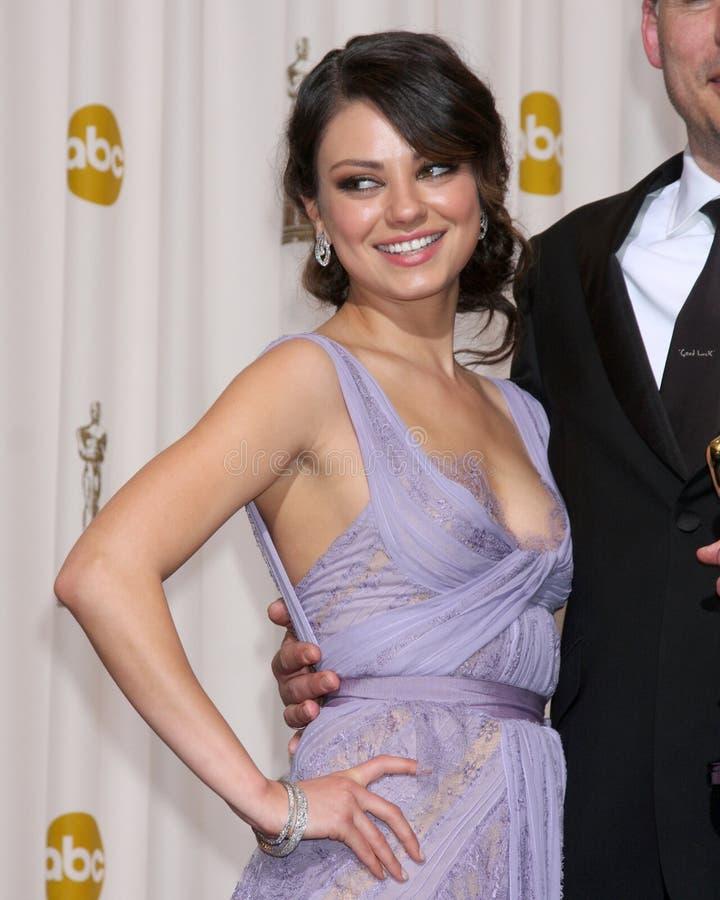 Mila Kunis imagen de archivo