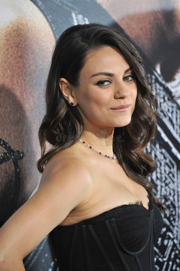 Mila Kunis imagem de stock royalty free