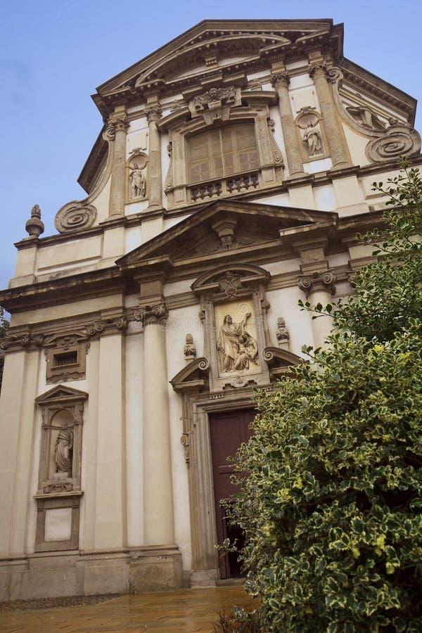 milaan De Kerk van San Giuseppe royalty-vrije stock foto's