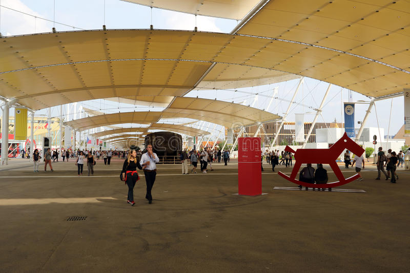 Milaan Expo, Italië royalty-vrije stock foto's