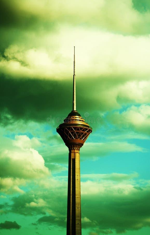 Milad Tower fotografering för bildbyråer