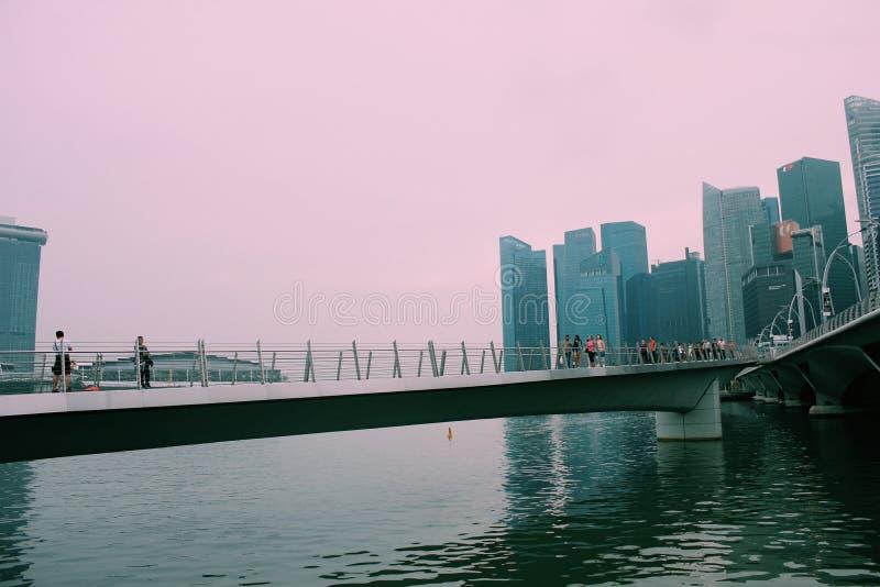 Milagre de Singapura fotos de stock royalty free
