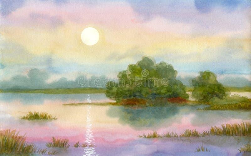 Milagro de la salida del sol libre illustration