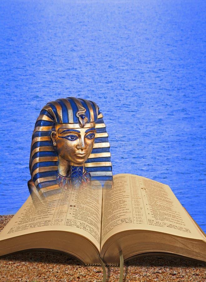 Milagros de la biblia del Mar Rojo de Moses del pharoah de dios fotografía de archivo libre de regalías