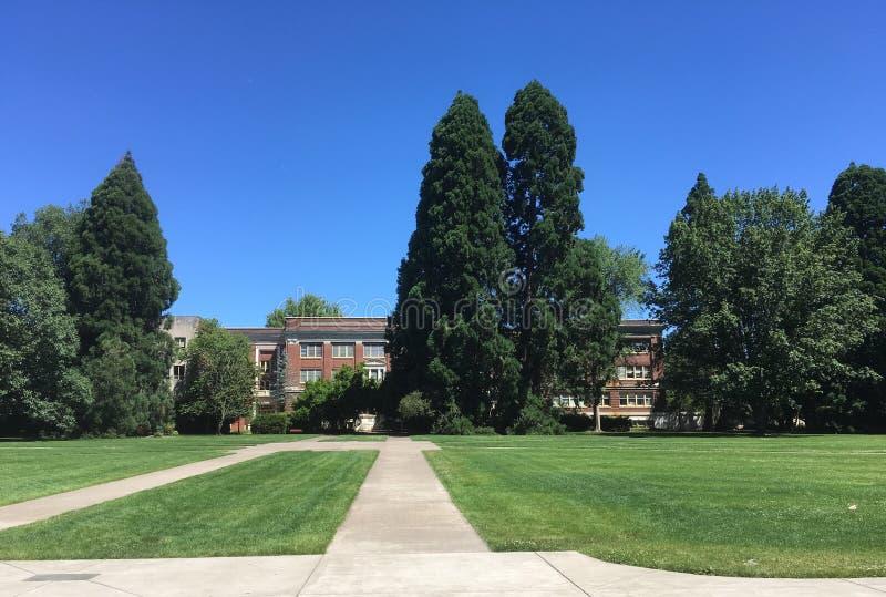 Milam Pasillo en la universidad de estado de Oregon imagen de archivo