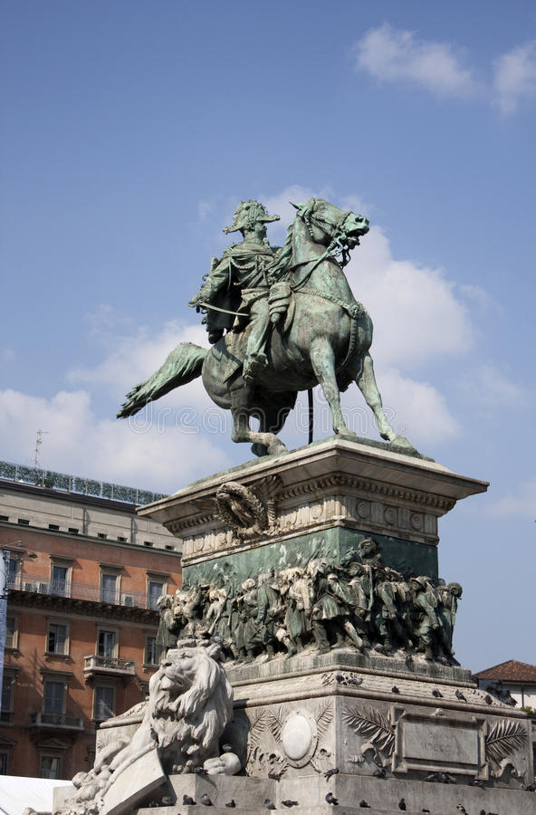 Download Milan stock image. Image of italy, architecture, sculpture - 13130431