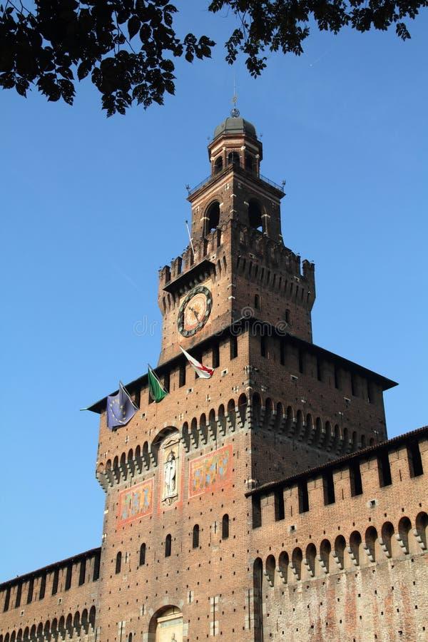 Download Milan stock image. Image of castle, vintage, european - 17658067