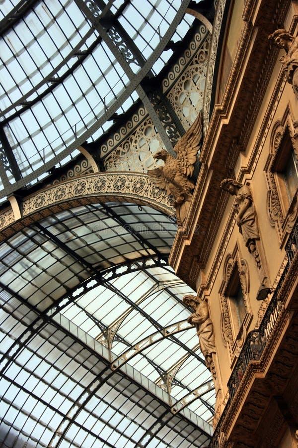 Download Milan arcade stock image. Image of center, europe, gallery - 10008803