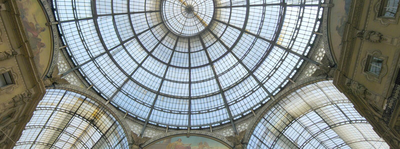 Download Milan architecture stock image. Image of vittorio, ceiling - 25579935