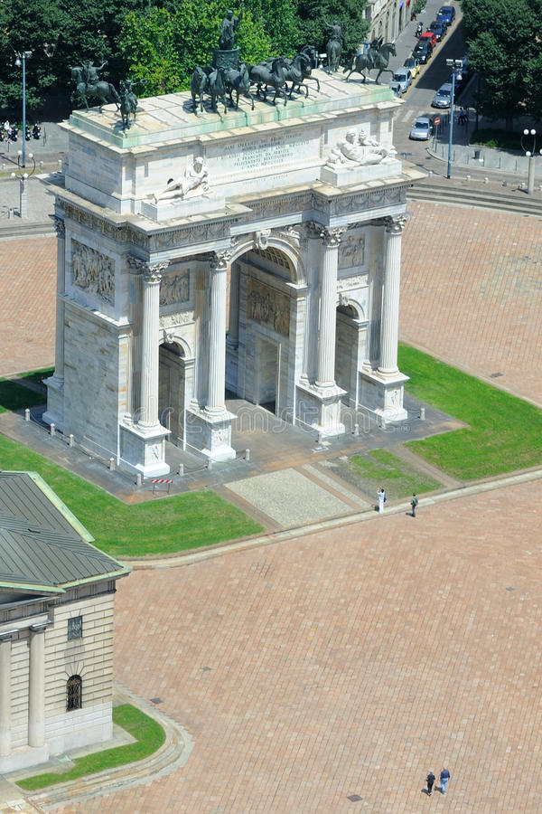 Free Milan - Arco Della Pace Stock Images - 20008974
