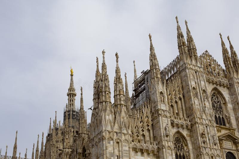 Milan Cathedral imagem de stock royalty free