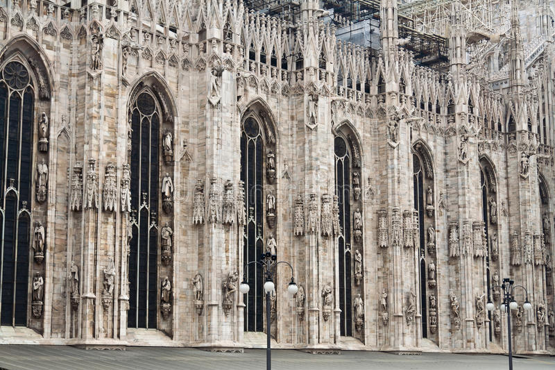 Download Milan Cathedral stock photo. Image of milano, intrincated - 17690288