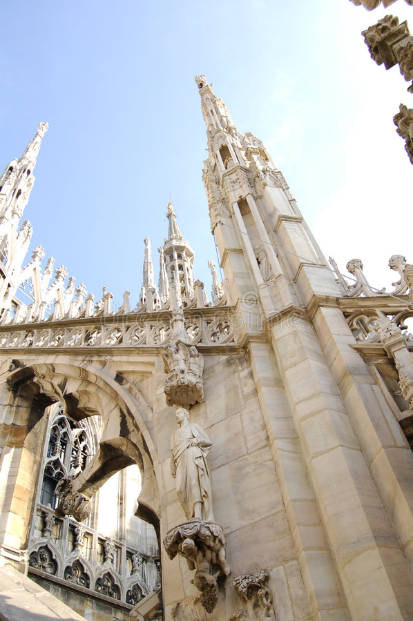 Download Milan cathedral stock photo. Image of church, spiritual - 2735366