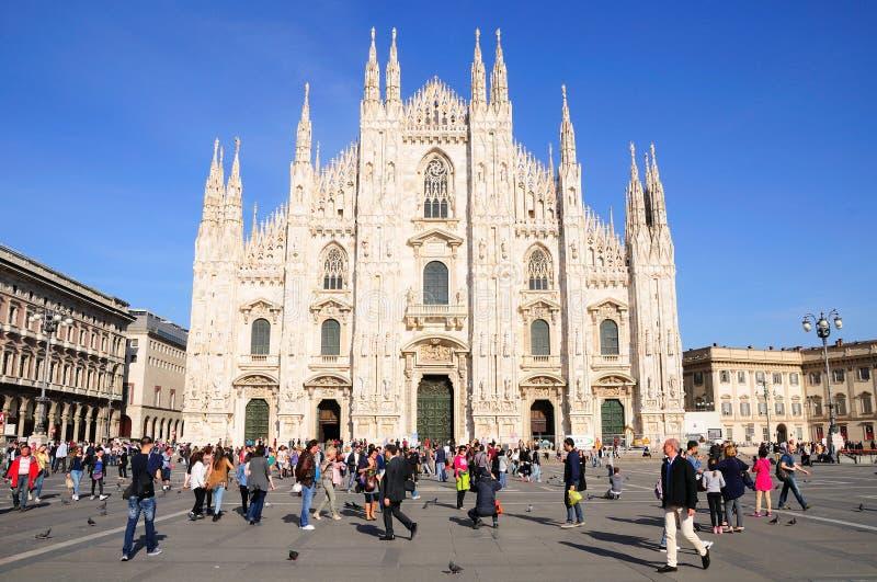 Milan Cathedral stockfoto