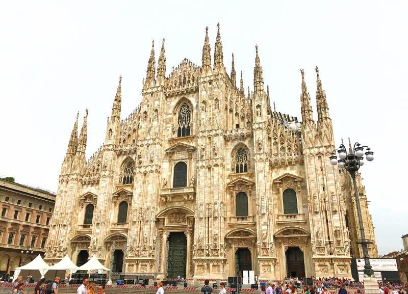 Milan Cathedral lizenzfreie stockfotos