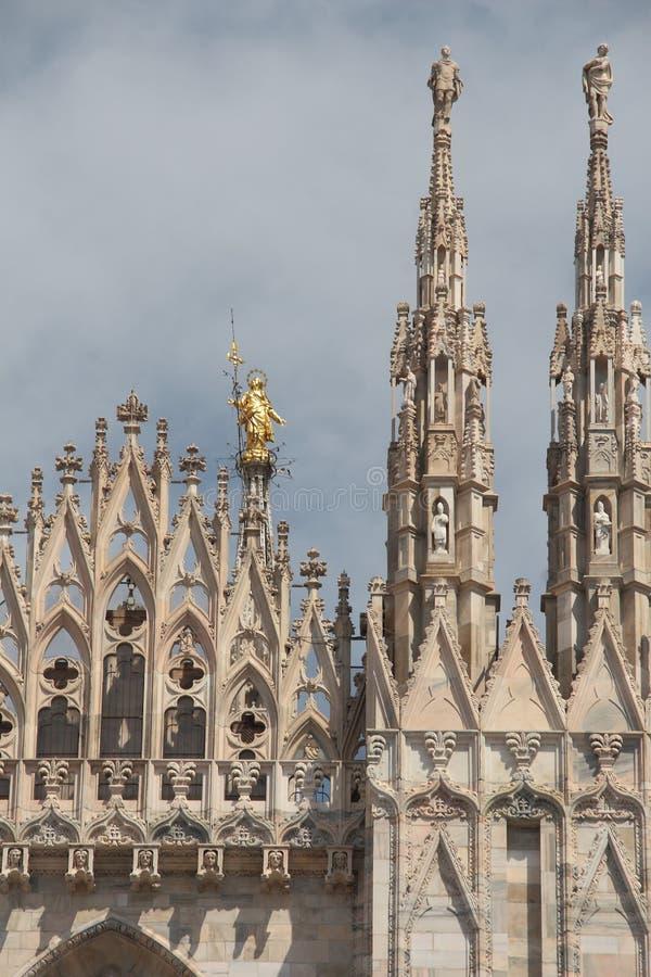 Milan Cathedral fotos de archivo libres de regalías