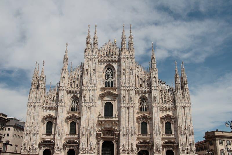 Milan Cathedral fotos de archivo