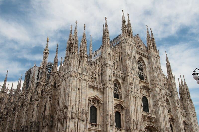 Milan Cathedral foto de archivo