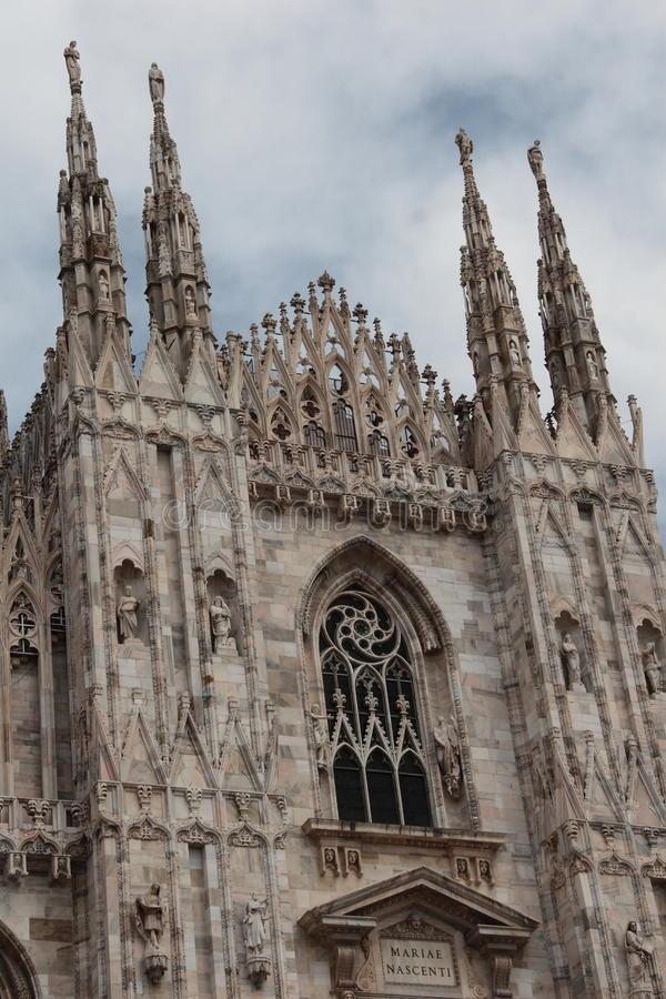 Milan Cathedral imágenes de archivo libres de regalías