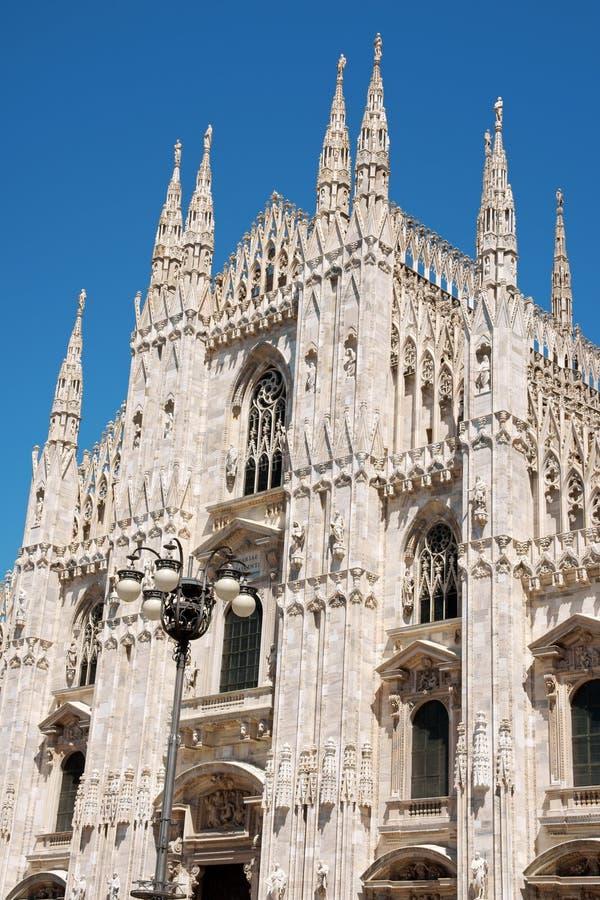 Milan Cathedral, Duomo di Milano stock images