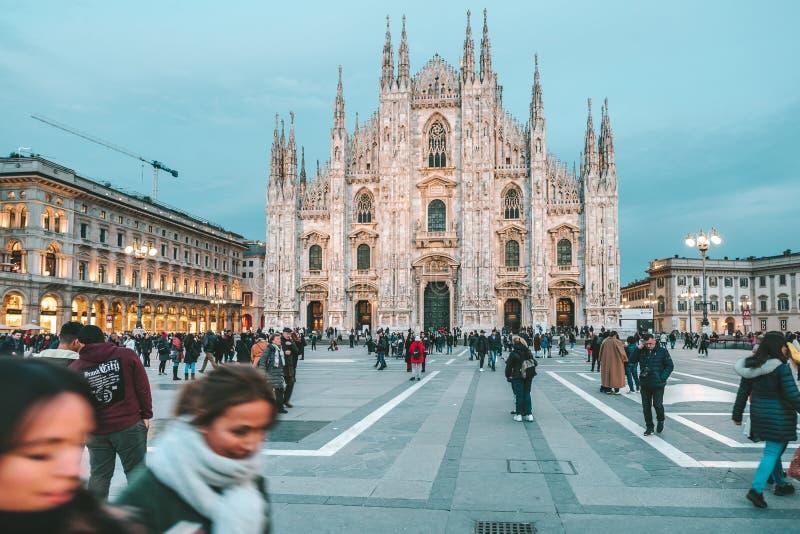 Milan Cathedral Duomo di Milano fotografie stock
