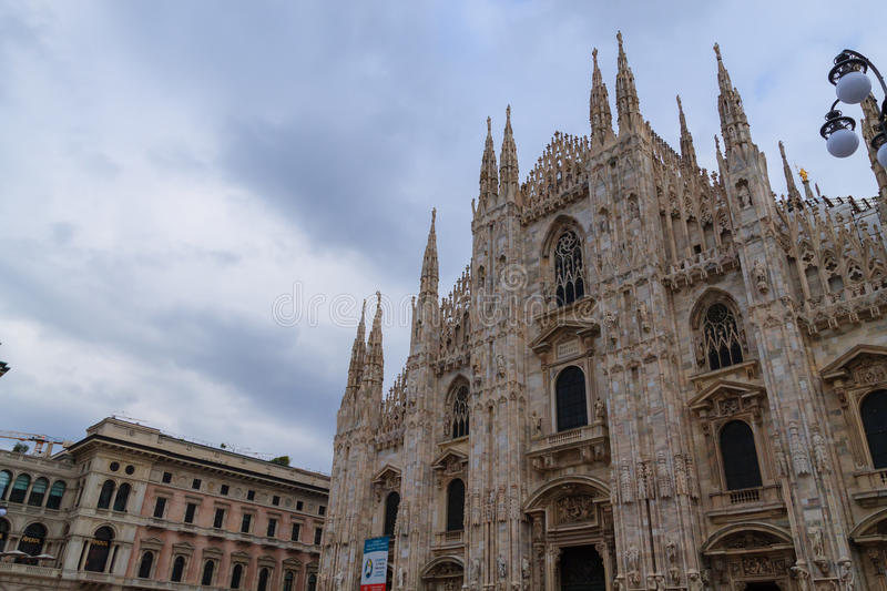 Download Milan Cathedral Duomo Di Milano View Famous Italian Landmark Editorial Stock Image
