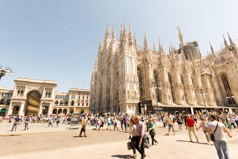 Milan Cathedral (Duomo) royalty free stock photography