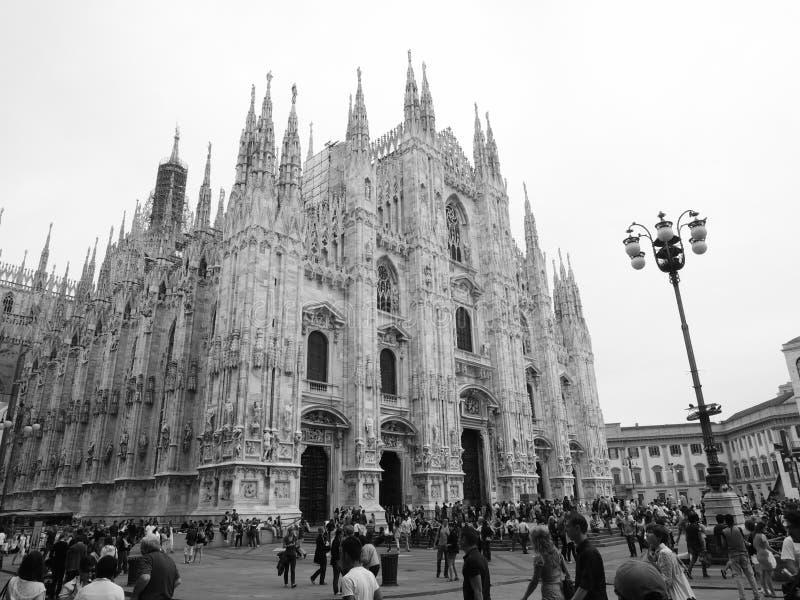 Milan Cathedral (Duomodr Milano), Milan, Italien royaltyfria bilder