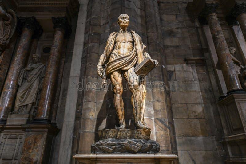 Milan Cathedral - Italië stock foto