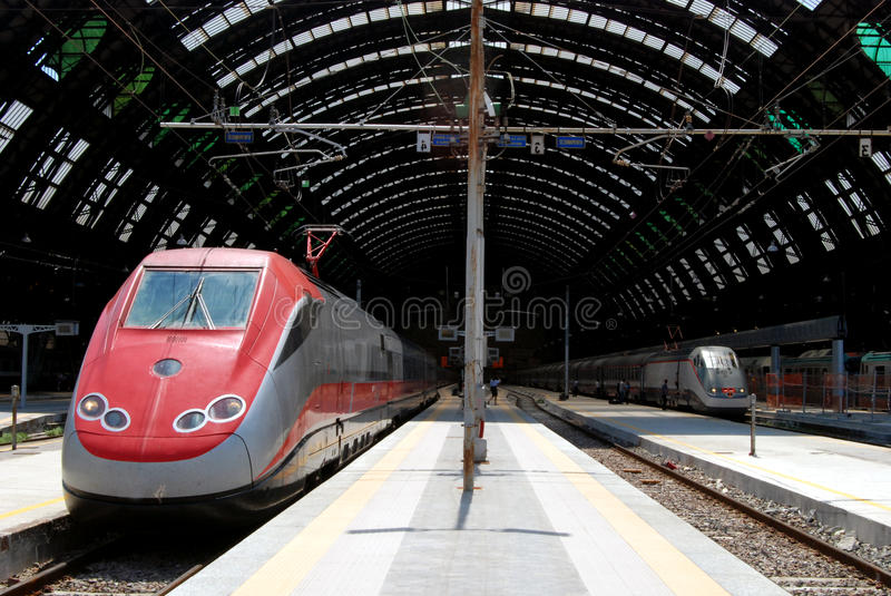 Download Milan Central Railway Station Stock Photo - Image: 9944660