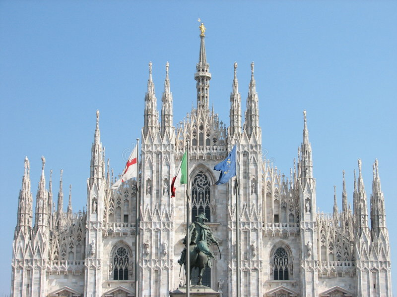 Milan Chatedral stock photos