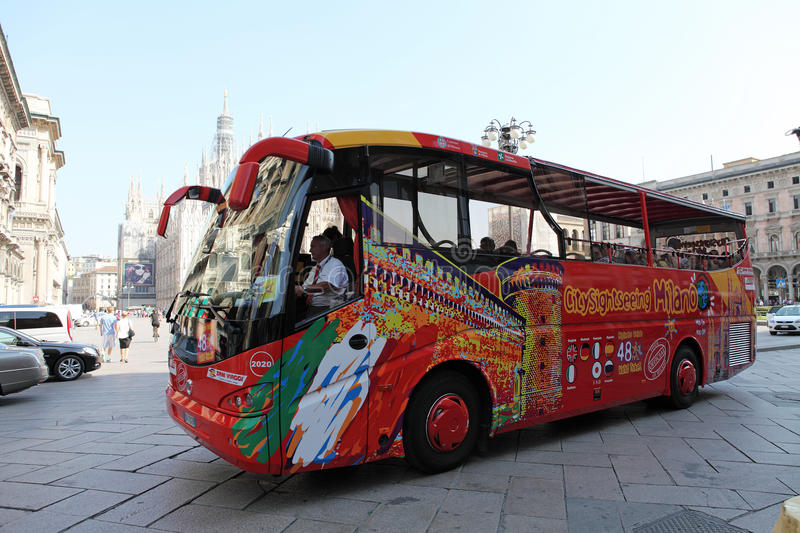 Download Milan City Sightseeing Coach Editorial Stock Image - Image: 21215909