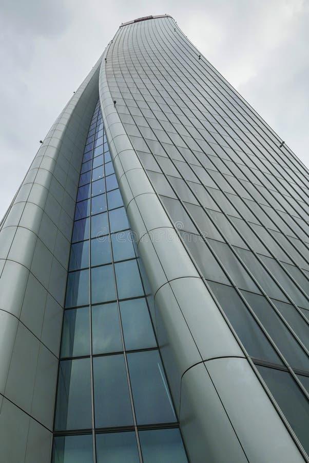 Milan CityLife Skyscraper imágenes de archivo libres de regalías