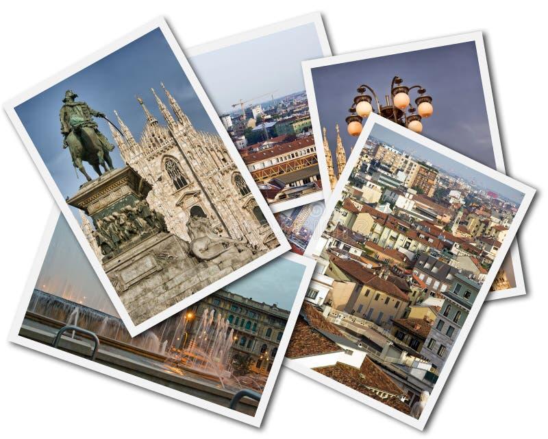 Milan Collage stock images