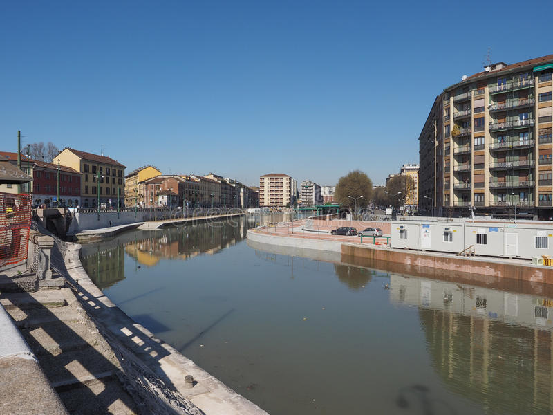 Milan Darsena stock photography