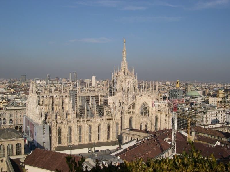 Milan domkyrka fotografering för bildbyråer