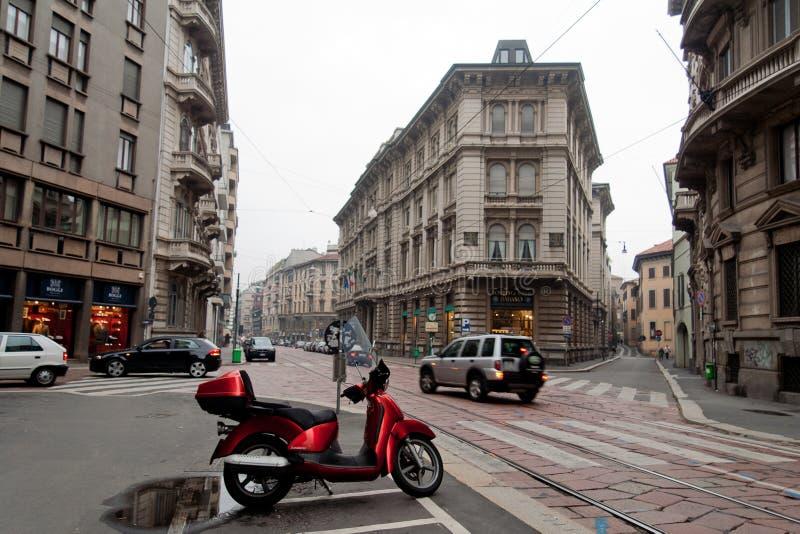 Milan du centre image libre de droits