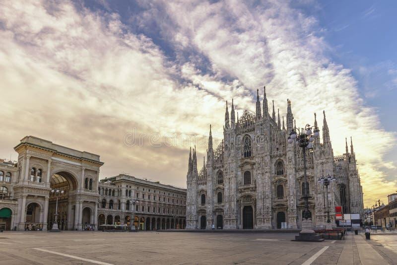 Milan Duomo Italy fotos de archivo