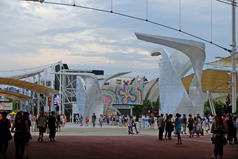 Download Milan Expo immagine stock editoriale. Immagine di italiano - 56884269