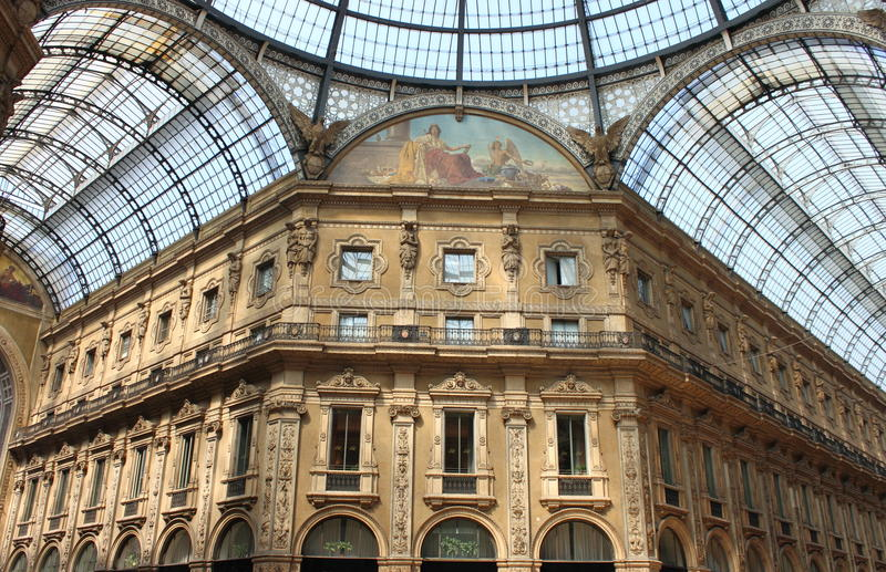 Download Milan gallery stock image. Image of interior, famous - 13965299